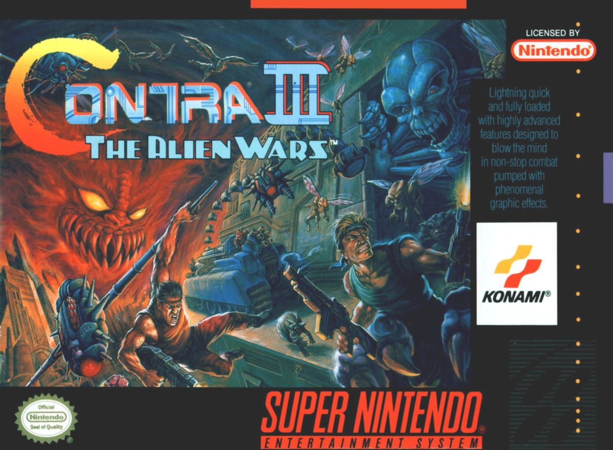 1992 - Konami (Super NES, Game Boy Advance, Virtual Console)