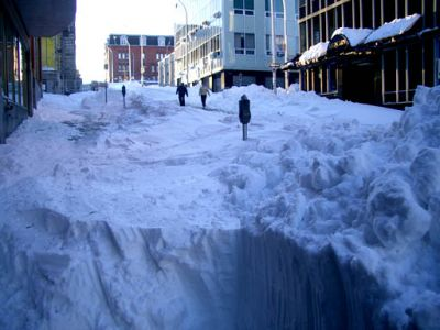 "Halifax after ""White Juan"", February 2004. Good times in the Maritimes."