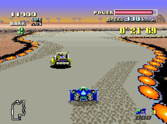 Not that it made F-Zero (1991 - Super NES) any easier!