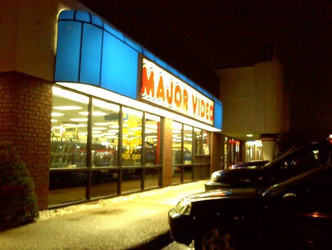 In the early 90's, Major Video was bought out by Blockbuster Video.  With Blockbuster's demise, Major Video stores are making a comeback.  Funny, how that works.
