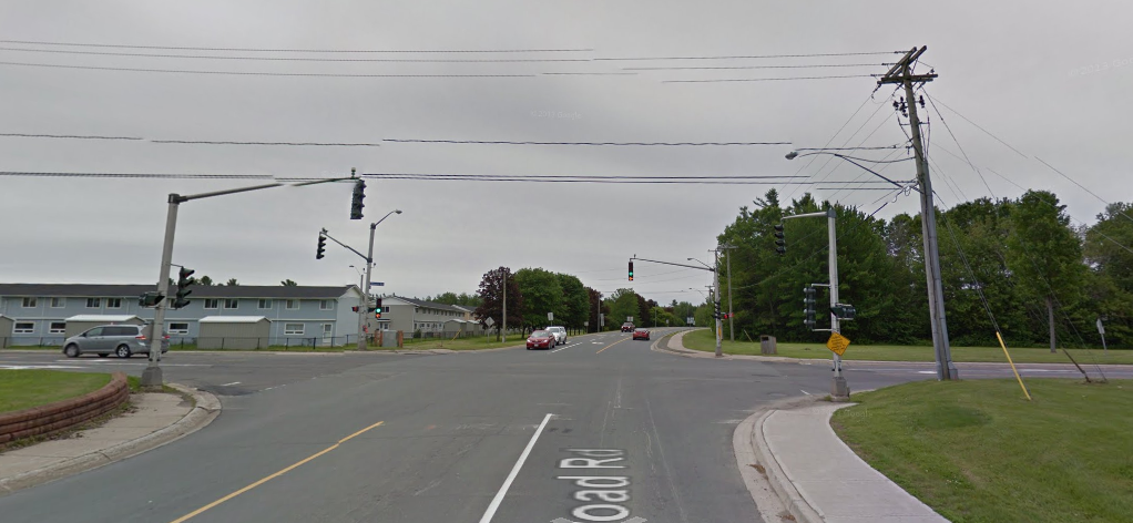 This is near the Oromocto, NB hospital, just outside of Fredericton.  We so rarely went there to rent games, so we must have been there for some other reason...  road trip?  ER visit?  Whatever it was, I can't recall.