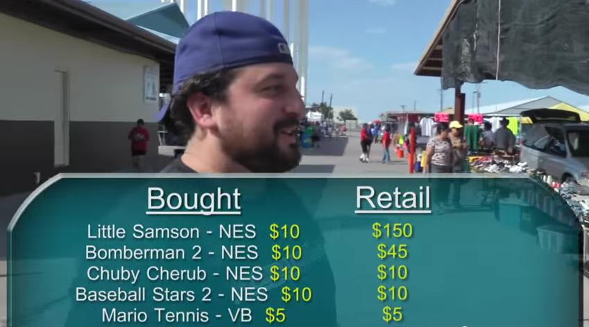This episode is a few years old and the game is worth more than that now, but Shady Jay definitely (to quote the show) caught this flea market vendor slippin'.