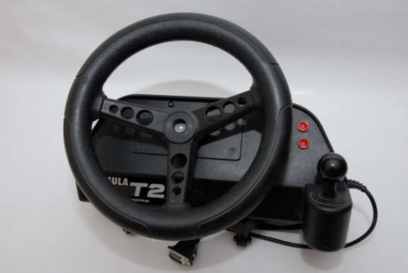 Here it is;  The Thrustmaster...  *giggles*