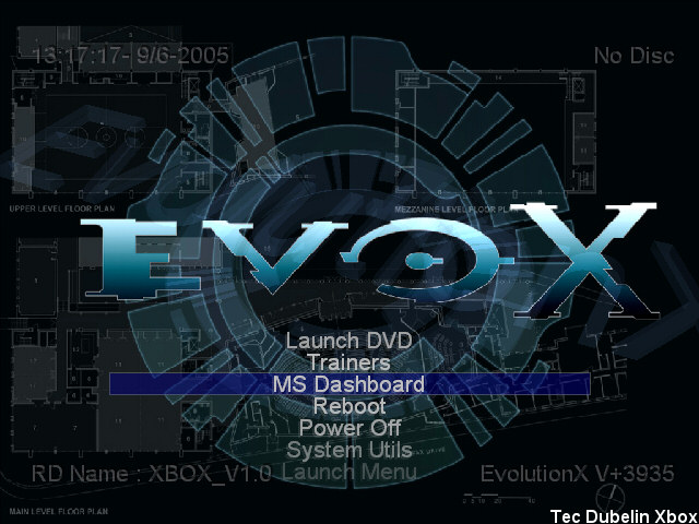 Pretty much my Xbox's Main Menu since 2005.  There are some pretty cool skins available, however.