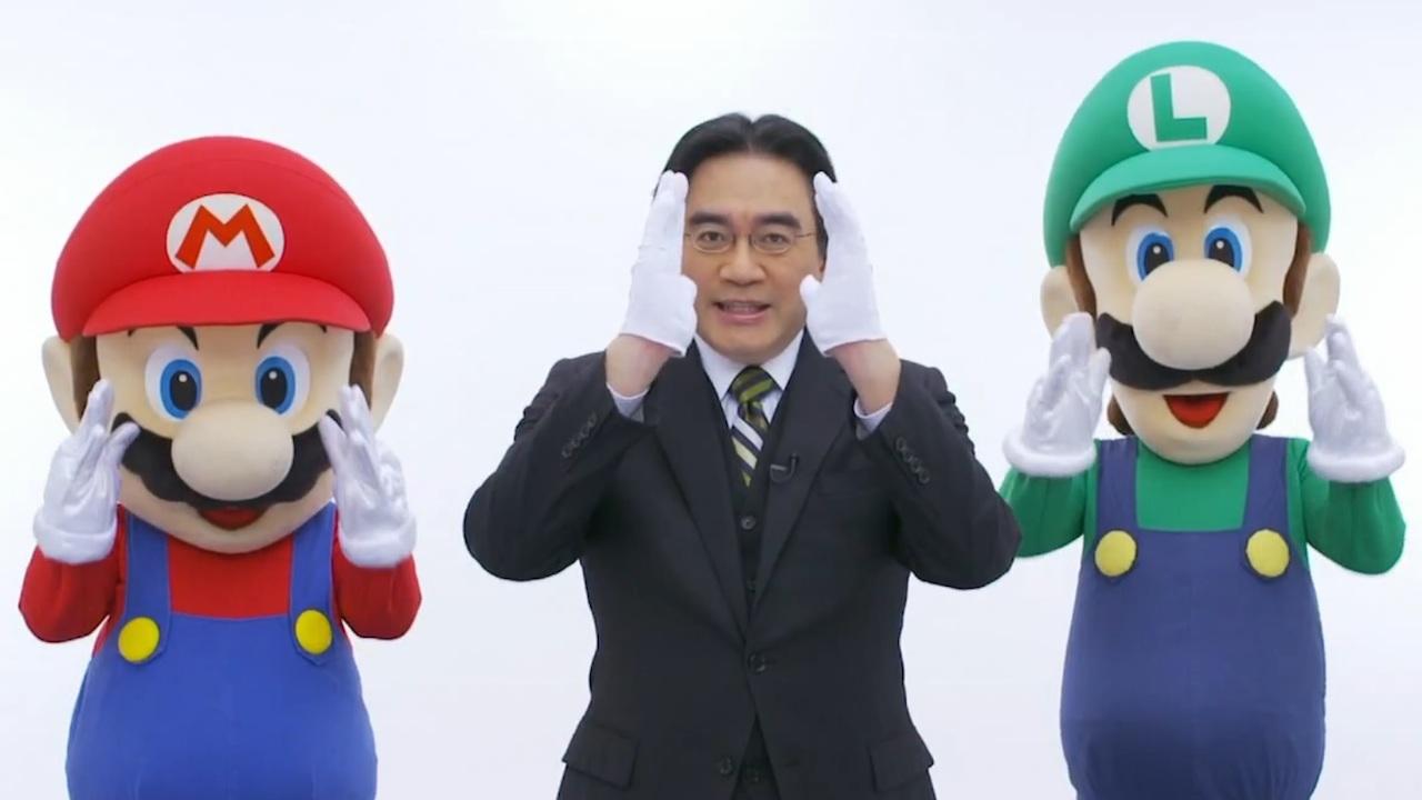 Farewell, Iwata-san.