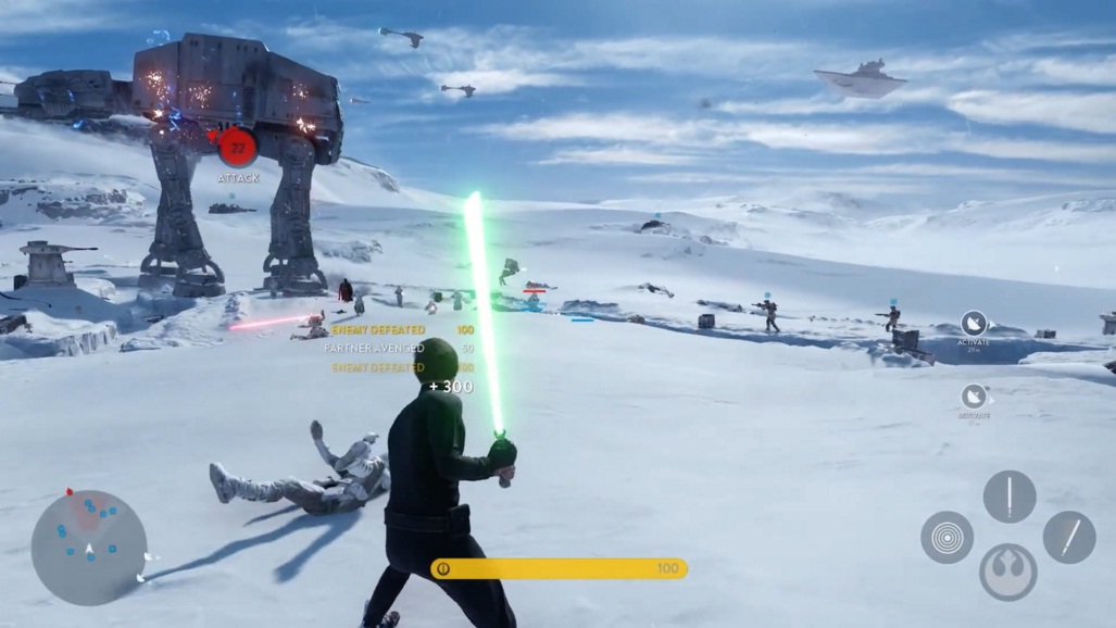 Also, what in the world is Endor-Luke doing on Hoth? Where's Hoth-Luke???
